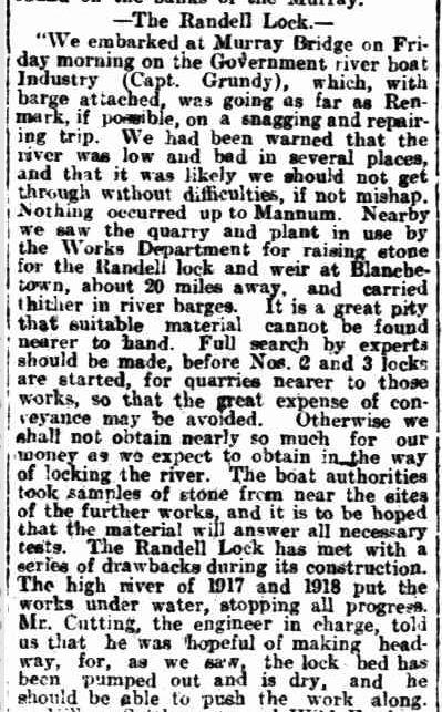 1919 01 18 Randell Lock